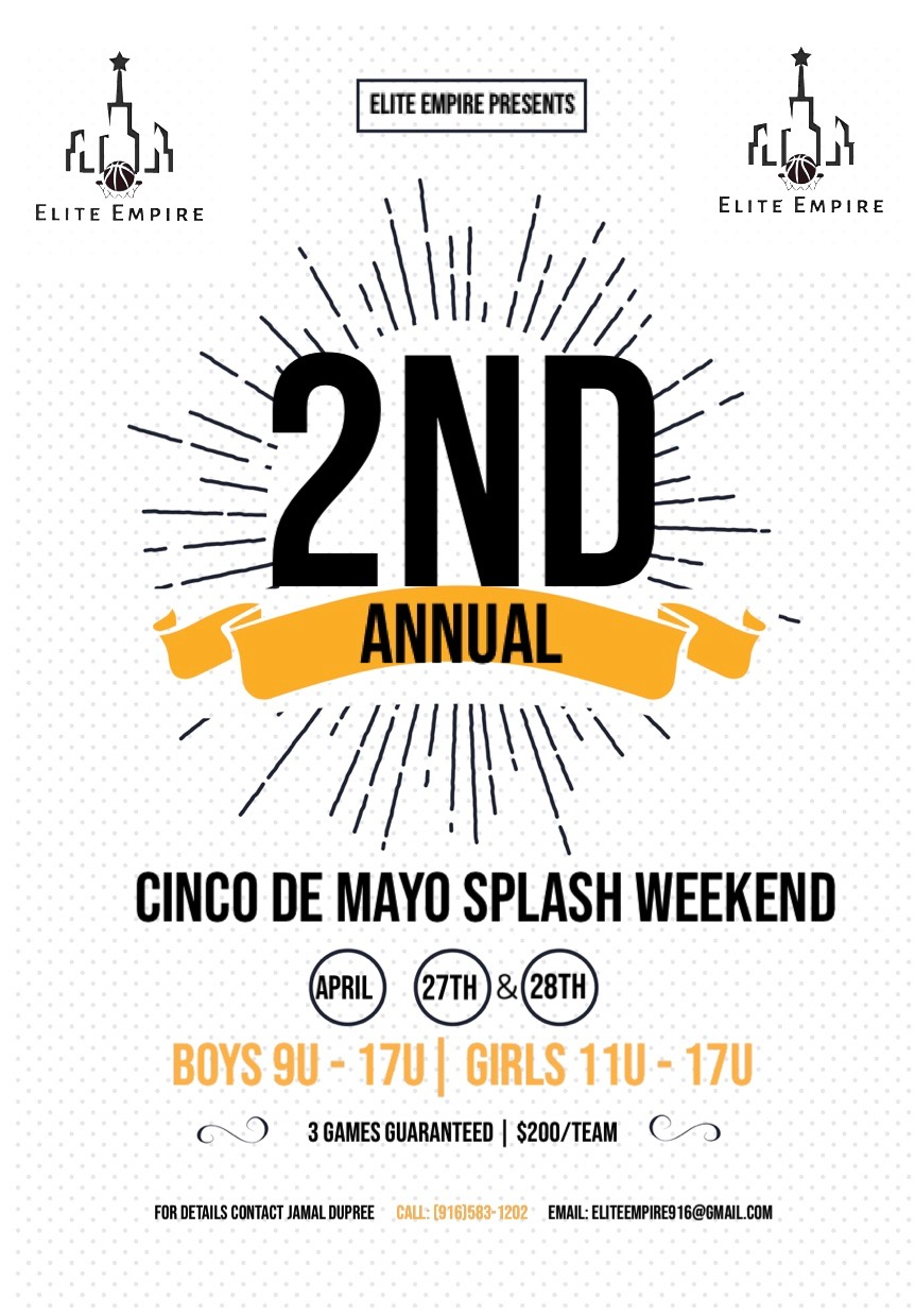 Cinco De Mayo Splash Shootout