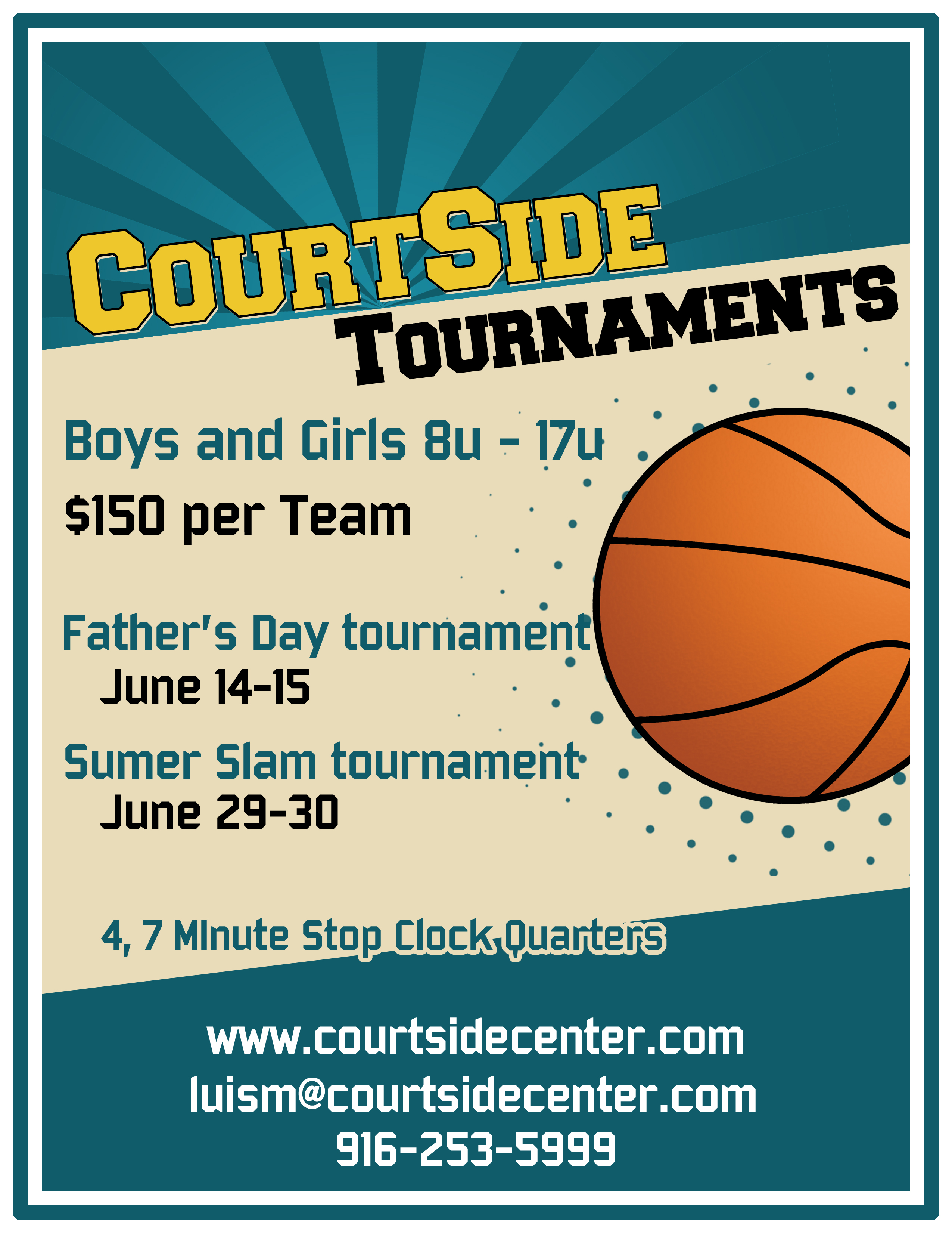 Courtside Basketball Tournaments