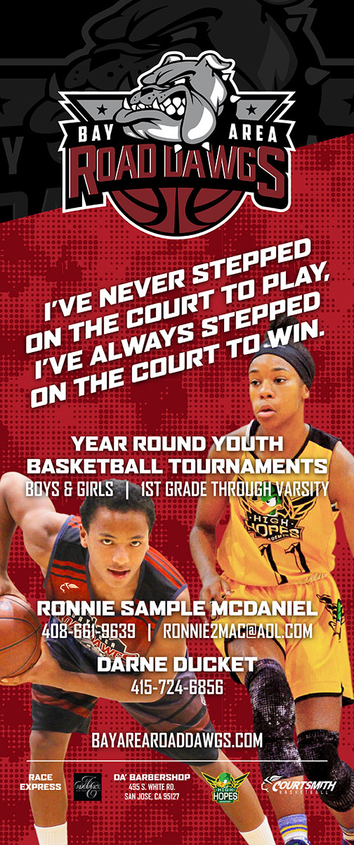 Youth basketball Tournament[ Bay Area Roaddawgs