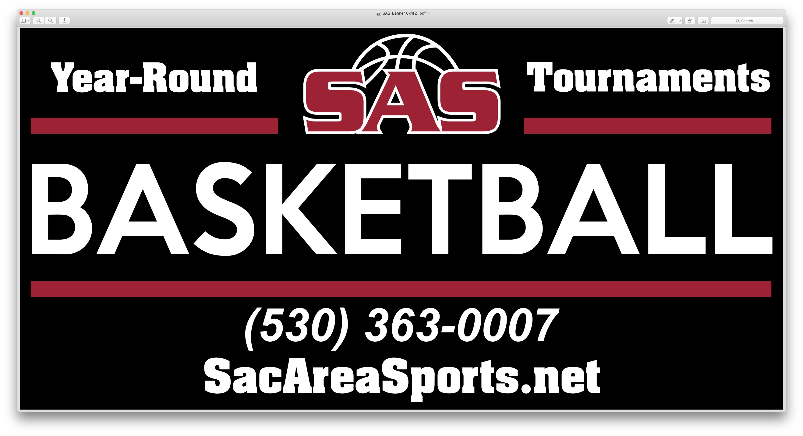 SAS Saturday Basketball Tournaments $125 per team