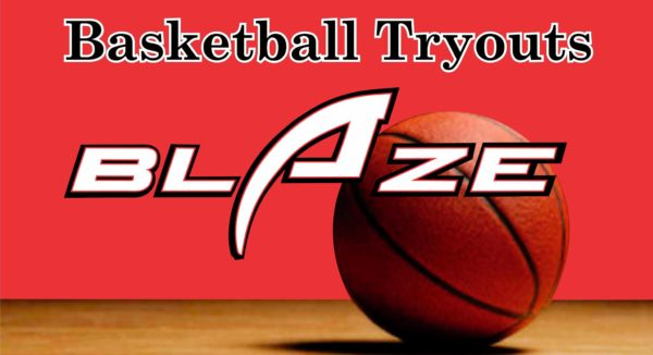 Blaze Basketball Tryouts: 2020 Spring Teams