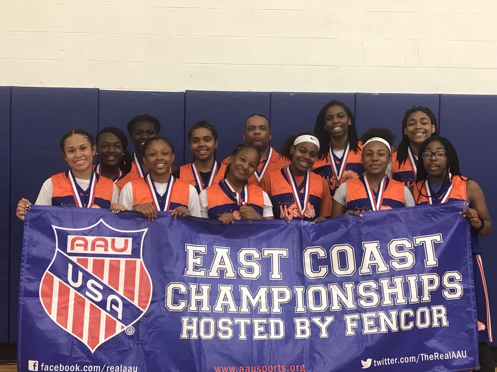 AAU East Coast Girls championships
