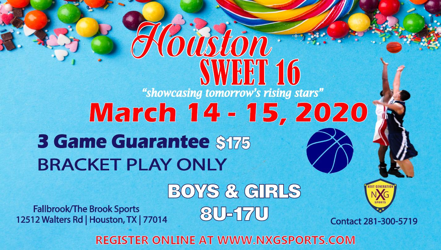 Houston Sweet 16