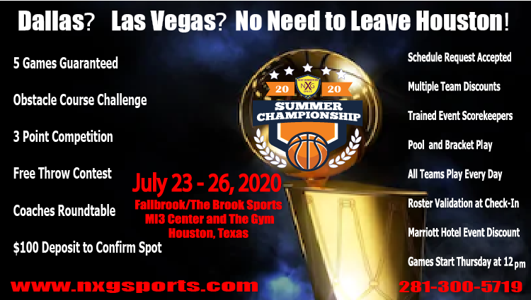 NXG Sports National Summer Championship