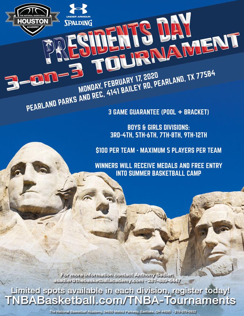 President's Day 3-on-3 Tournament