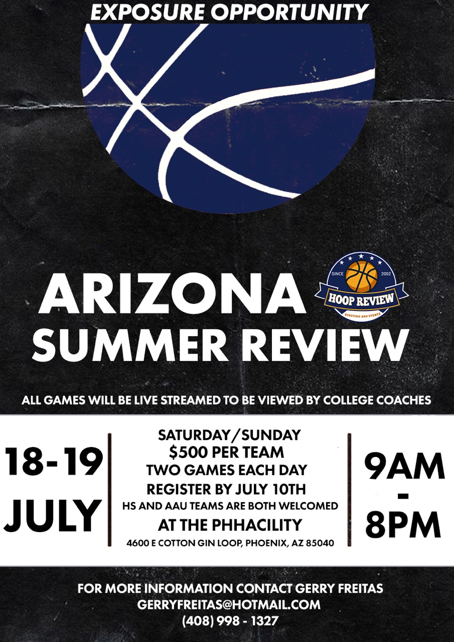 Arizona Summer Review (moved to So Cal)